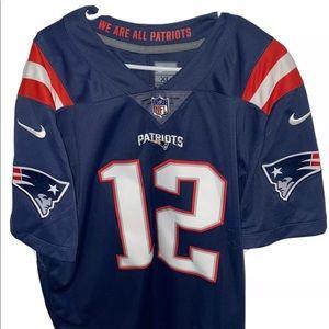 NIKE Tom Brady New England Patriots Jersey